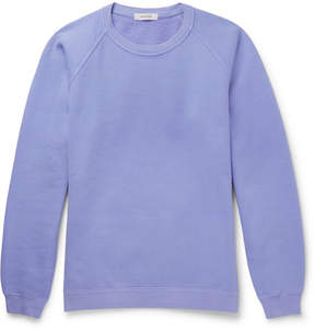 Nonnative Coach Overdyed Fleece-Back Cotton-Jersey Sweatshirt