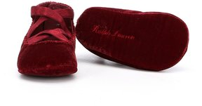 Polo Ralph Lauren Girls Priscilla Crib Shoes