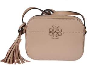 Tory Burch Logo Shoulder Bag - PINK & PURPLE - STYLE