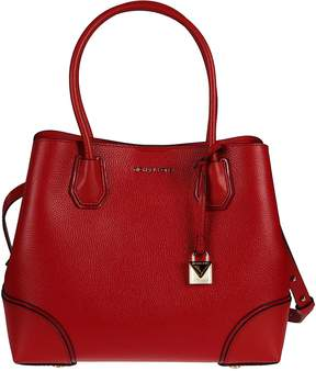 Michael Kors Michael Mercer Gallery Tote - BRIGHT RED - STYLE