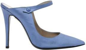 Alberta Ferretti Cloth heels