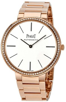 Piaget Altiplano White Dial Automatic Men's Watch