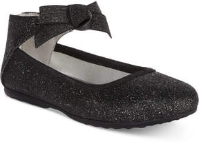 Kenneth Cole New York Bow-Rose Flats, Toddler, Little Girls (4.5-3) & Big Girls (3.5-7)