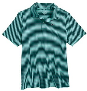 Vineyard Vines Boy's Color & Color Feeder Stripe Performance Polo