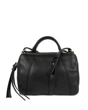 Kooba Turner Leather Micro Duffel Bag, Black