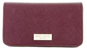 Henri Bendel Leather iPhone Case Wallet