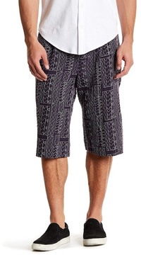 Billy Reid Cullman Embroidered Short