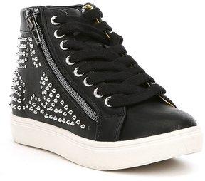 Steve Madden Girls J-Rebel Hi-Top Sneakers