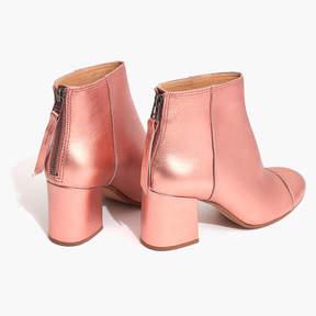 Madewell The Jillian Boot in Metallic