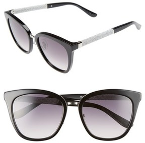 Jimmy Choo Women's Fabry 53Mm Sunglasses - Black