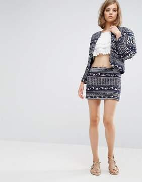 Vanessa Bruno Bandana Mini Skirt