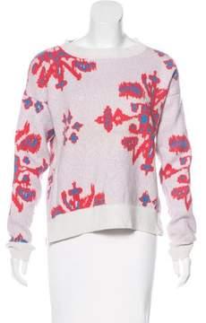 Baja East Cashmere Intarsia Sweater