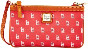 Dooney & Bourke MLB Collection St. Louis Cardinals Large Slim Wristlet - RED - STYLE