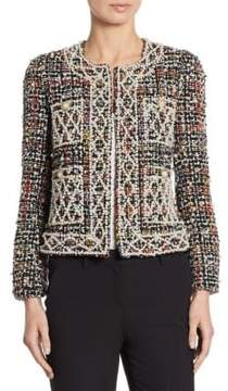 Edward Achour Pearl Wool Tweed Jacket