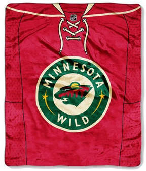 Northwest Company Minnesota Wild 50x60in Plush Throw Jersey