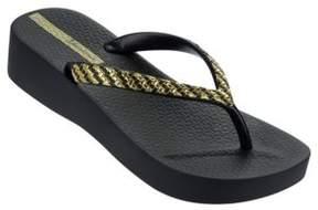 Ipanema Mesh Platform Flip Flops