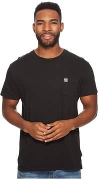 DC Dyed Pocket Crew Shirt Men's Short Sleeve Pullover
