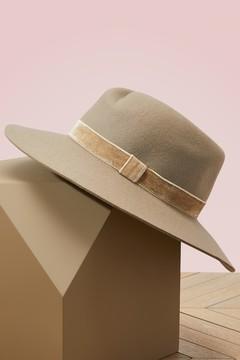 Rag & Bone Wool Zoe fedora hat