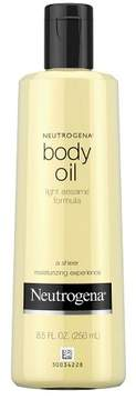 Neutrogena® Body Oil Light Sesame Formula - Sesame Oil - 8.5 fl oz