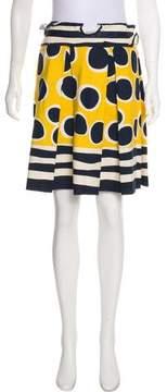 Anna Sui Printed Knee-Length Skirt