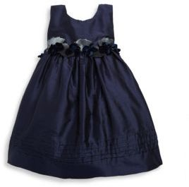 Isabel Garreton Baby's Sleeveless Silk Dress