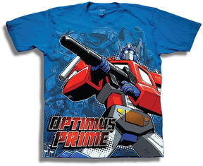 Freeze Transformers Short Sleeve Tees Transformers Graphic T-Shirt-Big Kid Boys