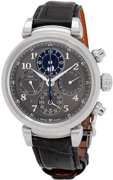 IWC Da Vinci Slate Dial Automatic Men's Perpetual Calendar Watch