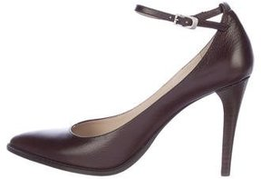 DKNY Leather Pointed-Toe Pumps