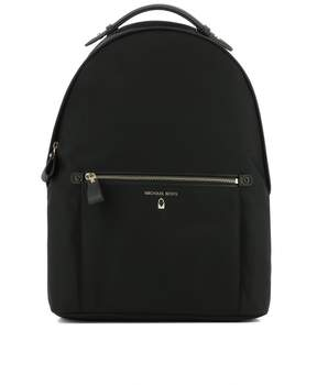 Michael Kors Black Fabric Backpack - BLACK - STYLE