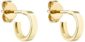 Finn Women's Yellow Gold Huggie-Hoop Earrings