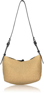Joanna Maxham Raffia Bow Tie Hobo Bag