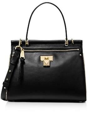 MICHAEL Michael Kors Jasmine Medium Leather Satchel
