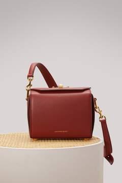 Alexander Mcqueen Grain leather box bag