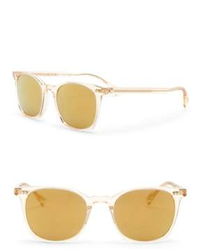 Oliver Peoples L.A. Coen 49mm Square Sunglasses