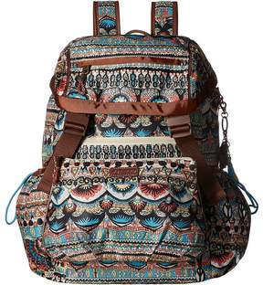 Sakroots Artist Circle Utility Daypack Day Pack Bags