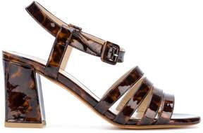 Maryam Nassir Zadeh strappy tortoiseshell sandals