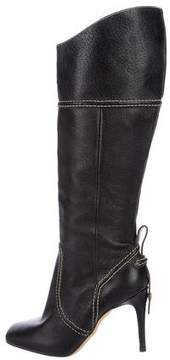 DSQUARED2 Leather Knee-High Boots