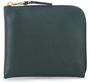 Comme des Garcons Green Leather Wallet