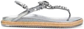 Jimmy Choo Neal crystal-embellished sandals
