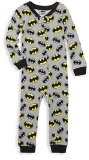 AME Sleepwear Baby's Cotton Batman Coverall
