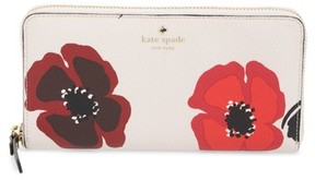 Kate Spade Women's Hyde Lane Poppy Michele Leather Wallet - Red - RED - STYLE