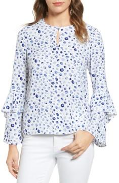 Cooper & Ella Women's Agatha Bell Sleeve Blouse