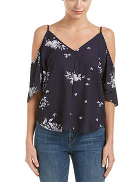 Eight Sixty Cold-Shoulder Blouse