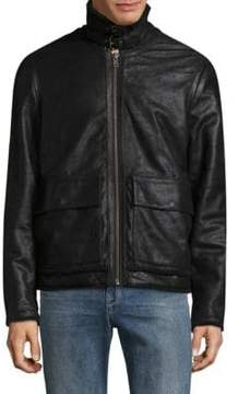 Joe's Jeans Lauda Leather Coat