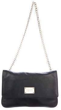 MICHAEL Michael Kors Grained Leather Chain-Link Shoulder Bag
