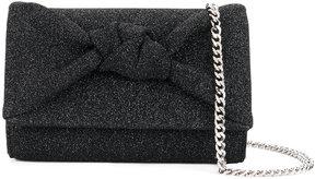Giuseppe Zanotti Design glitter knot detail bag