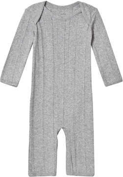 Mini A Ture Noa Noa Miniature Grey Melange Long Sleeve Jumpsuit