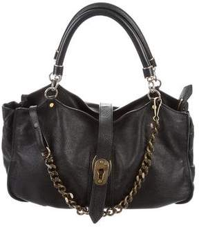 Burberry Textured Leather Hobo