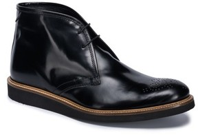 Bugatchi Men's Verona Brogued Chukka Boot