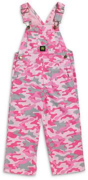 John Deere Pink Camo Logo Overalls - Infant & Toddler